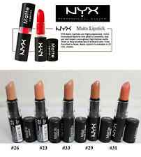 5 NYX Matte Lipstick Fast  FREE  Ship from USA Lip Stick beige natural  NUDE N1