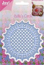 JOY CRAFTS  Die Cutting & Embossing Die CIRCLE FRENCH LILLY  6002/0289 *