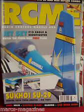 RCM&E JUNE 2002 F15 EAGLE & EUROFIGHTER PLAN RAY WOOD HAWKER HUNTER HIGH VOLTAGE