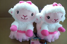 "NEW  DISNEY ""DOC MC STUFFINS"" LAMBIE GIRLS SLIPPERS CHILD 9/10"