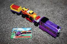 Thomas the Train Friends Wooden Culdee Apple Orchard Car Card RARE 2003 Complete