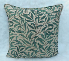 William Morris Fabric Cushion Cover 'Willow Boughs'  Taupe/Green 100% Cotton