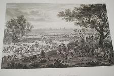SIEGE DE DOUAI LOUIS XIV 1667 GRAVURE 1838 VERSAILLES R1059 IN FOLIO