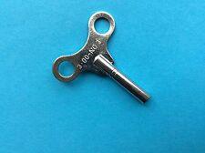 Uhrenschlüssel für Großuhren Nr. 3 Vierkant 3,00mm vernickelt