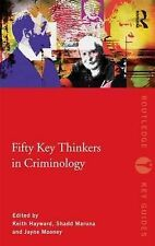 Fifty Key Thinkers in Criminology by Taylor & Francis Ltd (Paperback, 2009)