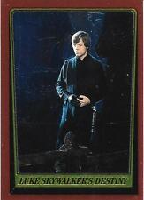 1999 Topps Star Wars Chrome Archives #79 Luke Skywalkers Destiny   Mark Hamill
