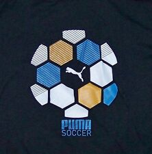PUMA SOCCER / FOOTBALL / SPORT / BLACK T- SHIRT SIZE M
