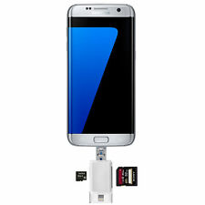 TF SD Kartenleser USB Stick Galaxy S7 S6 S5 iPhone 6 5 Kartenlesegerät Lightning