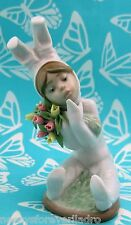 Lladro # 1509 ~ SPRING FLOWERS~Child Bunny  *** MIB ***      BUY 1 GET 1 50% OFF