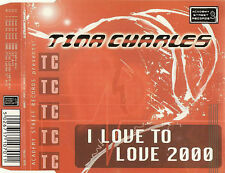 Academy Street TINA CHARLES - I LOVE to LOVE 2000 Hi NRG CD SINGLE DACST70