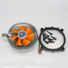 PC CPU Heatsink 3Pin Fan Cooling Cooler For Inter LGA775 AMD AM2 AM3 754 939 940