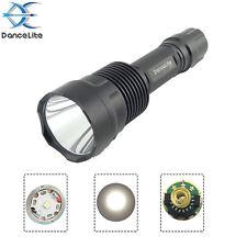 DanceLite C12 CREE XP-L Hi V3 10x7135 3500mA 10W 3M(L/M/H) LED Flashlight, Lamp