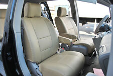 IGGEE S.LEATHER CUSTOM FIT SEAT COVER FOR 2004-2010 NISSAN QUEST