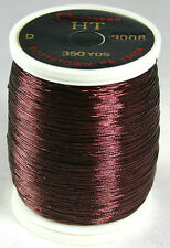 1 Oz Spool Gudebrod BURGANDY #9008 HT Metallic Rod Building Thread Size A or D