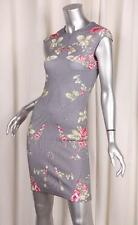 McQ by ALEXANDER McQUEEN Womens Cotton Multicolor Floral Bodycon Dress XS