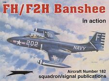 F2H Banshee in Action - Squadron Signal (US Navy McDonnell FH-1)