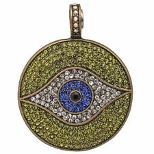 NEW KIRKS FOLLY ALL SEEING EYE MAGNETIC ENHANCER   BRASSTONE/ OLIVINE