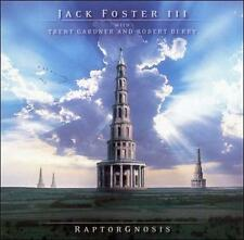 Raptorgnosis; Jack Foster III 2005 CD, Prog Rock, Jazz Fusion, Muse Wrapped Very