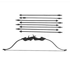 "1/6 Scale Reflex Bow Set Model Arrow For 12"" Costume Figure ZY TOYS Black"
