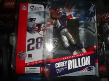 COREY DILLON MCFARLANE NFL FIGURE PATRIOTS UNIFORM, UNOPENED