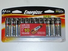 24 Energizer MAX 1.5V AA Alkaline Batteries Power Seal Technology 3/2023 NEW