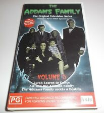 THE ADDAMS FAMILY THE ORIGINAL TELEVSION SERIES VOLUME 5 VHS VIDEO
