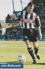 Football Photo JOHN McDERMOTT Grimsby Town 1998-99