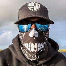 Salt Armour Spades Skull Face Shield Sun Mask Balaclava Neck Gaiter Bandana USA