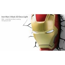 Iron man 3 mask 3D deco light (marvel) par 3D light fx neuf