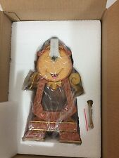 New Exclusive Disney Store Cogsworth Clock Beauty and the Beast Real WORKS