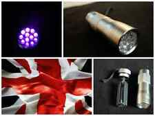 12  LED UV LED TORCH FLY TYING UV GEL  CURING TORCH HIGH QUALITY ,FROM UK