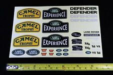Decals for 1/10 Land Rover Defender D90 D110 body RC4WD