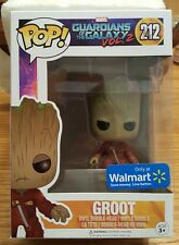 Funko POP ~ Guardians Of The Galaxy ~ Vol. 2 ~ Groot 212 ~ Only at Walmart.....