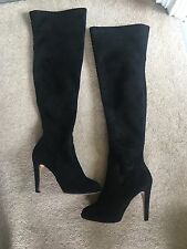 ladies knee high boots size 6