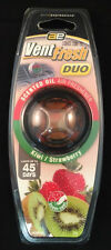 Auto Expressions Kiwi & Strawberry Vent Fresh Duo Vent Car Air Freshener