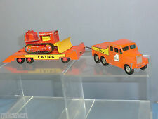 "MATCHBOX ""KING SIZE MODEL No.K8-1 PRIME MOVER & CRAWLER TRACTOR""LAING 2nd VER"