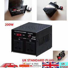 200W 110V/220V Output Step Up&Down Voltage Transformer UK TO US Power Converter