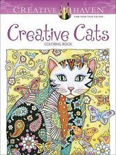 Creative Cats - A Creative Haven Adult Coloring Book from Dover Publications