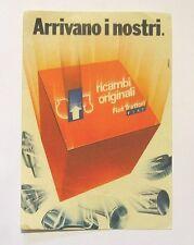 VECCHIO ADESIVO / Old Sticker TRATTORI FIAT (cm 14 x 20)