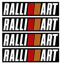 Mitisubishi Evo Ralliart Bumper Decals Stickers