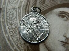 Saint Benedict Blessed Holy Father Medal Religious Vintage Catholic Medal