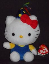 TY HELLO KITTY CELEBRATION BEANIE BABY - MINT with MINT TAG