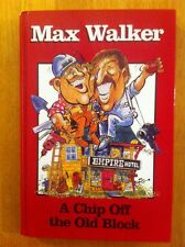 MAX WALKER A Chip Off The Old Block Memoir Biography Father & Son Cricket