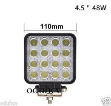 LED 48W Trabajo Barra De Luz 12V 24V Proyector Spot Haz luz 4WD Offroad Barco