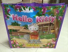 Sanrio Hello Kitty   Thai Elephant   in Thailand shopping tote bag .. Limited