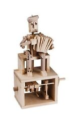 Accordion Player -Timberkits Self-Assembly Wooden Construction Moving Model Kit