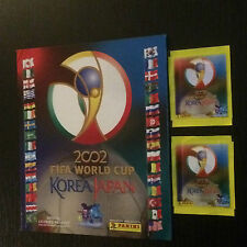 PANINI WM 2002 JAPAN & KOREA SEALED STICKER + LEER ALBUM