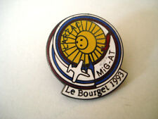 PINS RARE LE BOURGET 1993 LARZAC MIG AT AVIATION AIR FORCE PLANE AVION AIRCRAFT