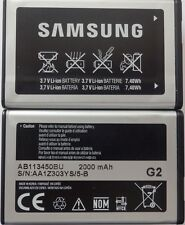 100% original samsung Batterie ab113450bu 2000mah e2370 solid/xcover top wow