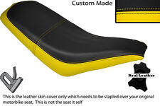 BLACK & YELLOW CUSTOM FITS KAZUMA FALCON 110 150 250 ATV QUAD SEAT COVER